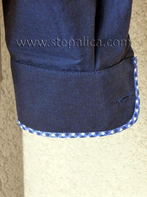 Štepalica: Košulja sa paspul detaljima
