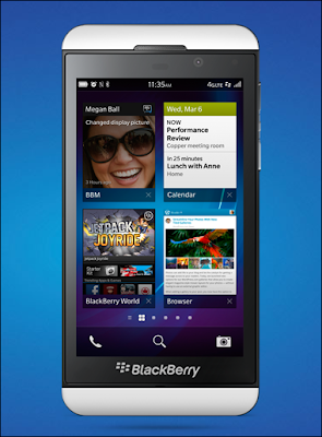 Experience with Blackberry Z10