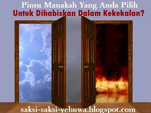 akibat dosa surga dan neraka saksi yehuwa