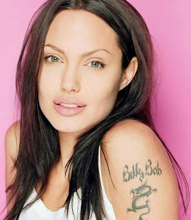 Angelina Jolie Tattoos, Tattooing