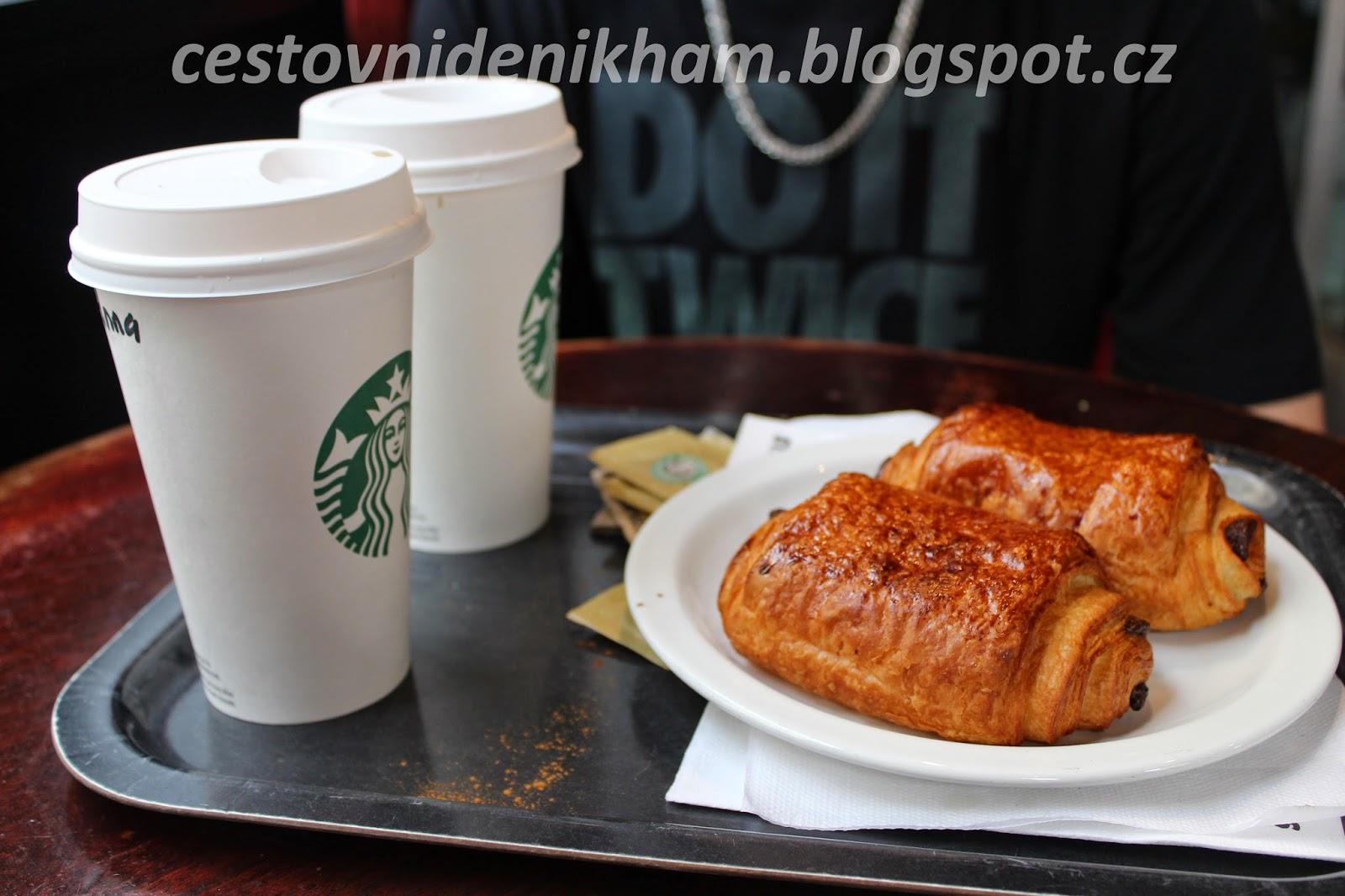 Večeře ve Starbucksu