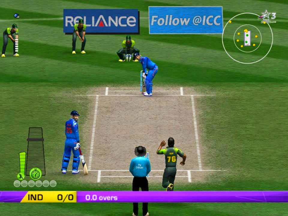 play cricket world cup 2015 games online