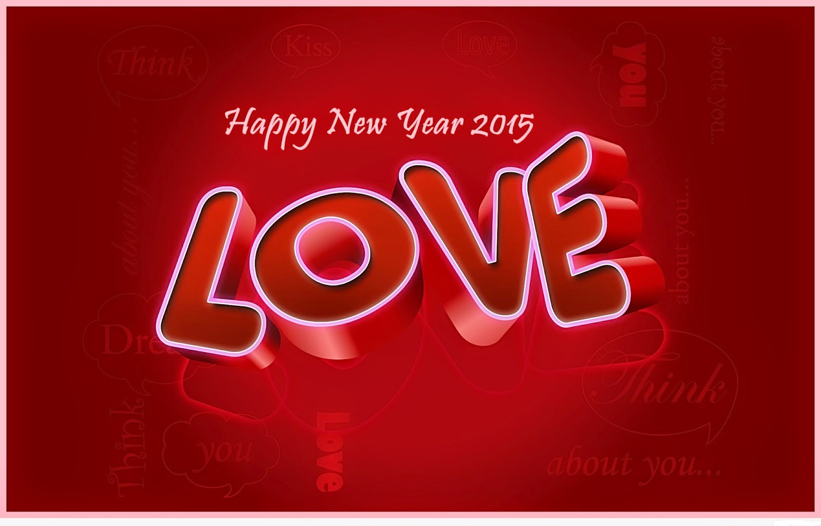 Happy New Year 2015 Love Cards