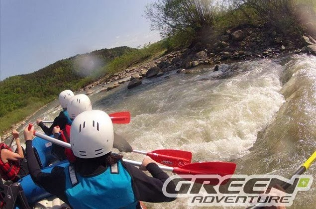 rafting buzau green adventure