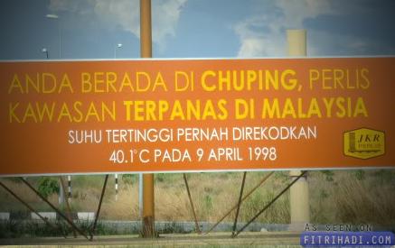 perlis negeri terpanas di Malaysia