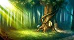Conto: Na Floresta Quase Mágica...