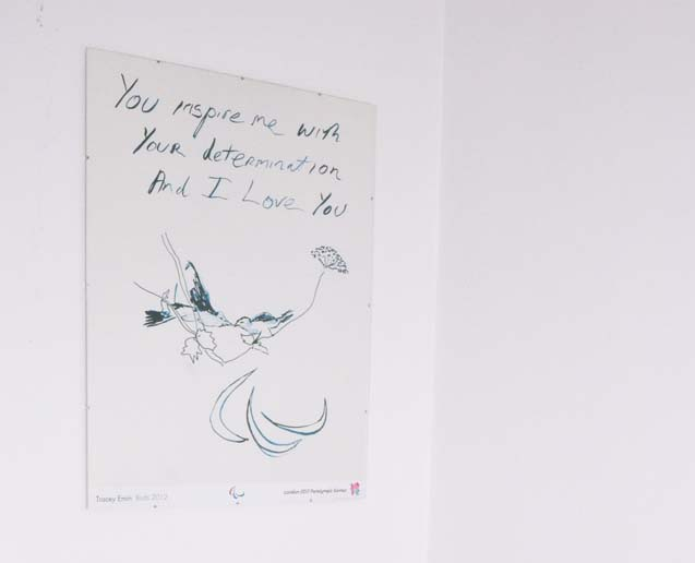 Tracey Emin Paralympics poster