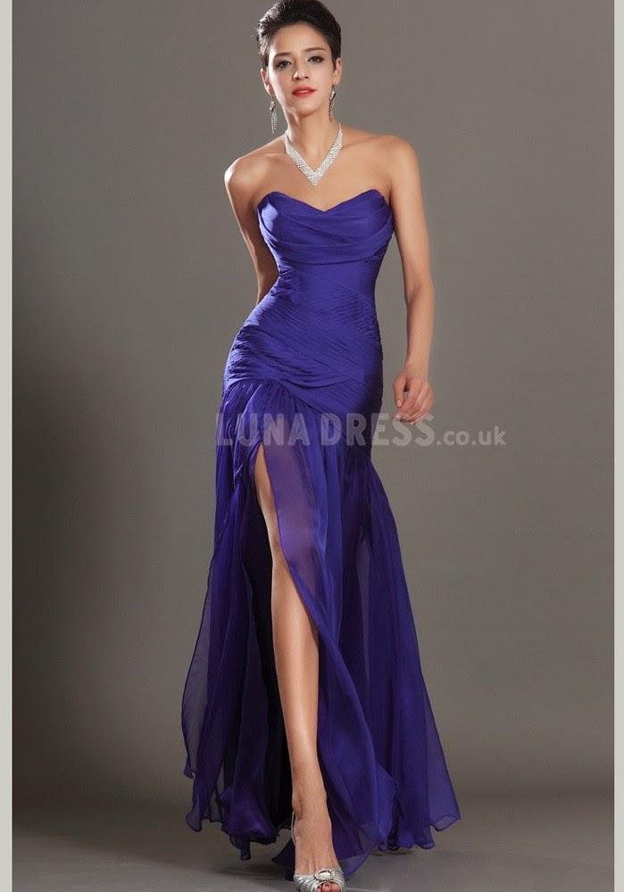 Trend alert: Thigh high slit dresses