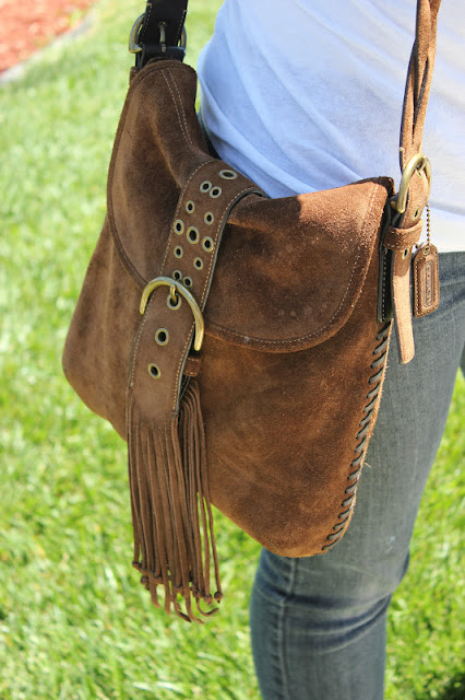 Fringe Coach Bag