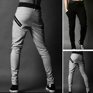 Men Man Cool Harem Trousers Skinny Pants Legging Straight Fit Sports Sweat Pants