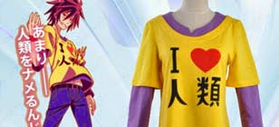 Jual Kaos No Game No Life Sora