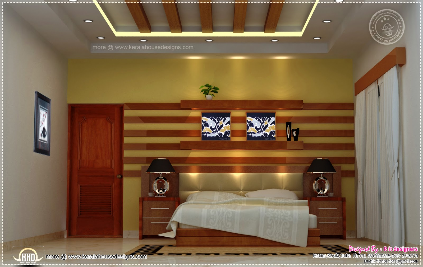 Home Interior Designs By Rit Designers Home Kerala Plans