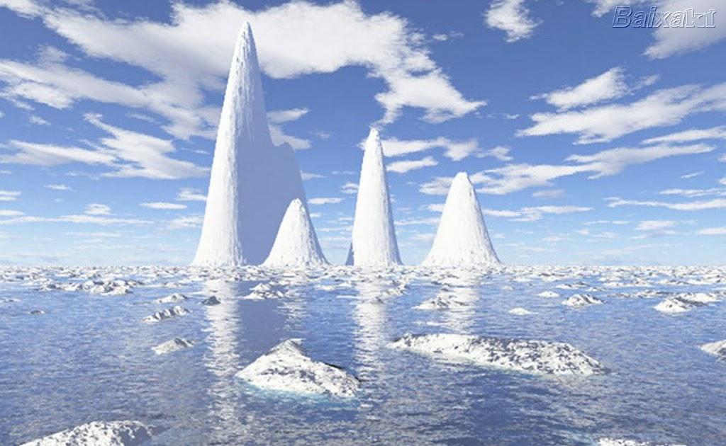 Torre do Babel: Nível do mar não sobe com o derretimento