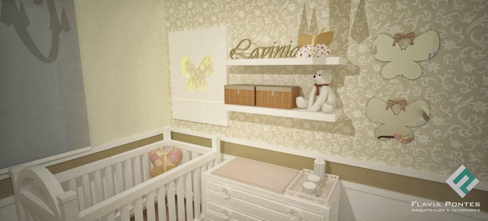 Flavia Pontes Arquitetura 2013 ~ Quarto De Bebê Lilás Com Armario Quarto Medidas