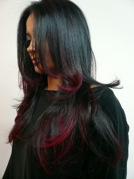 Mechas ombre style en cabellos claros