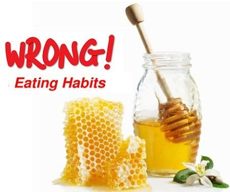 Danger habits of honey consumption