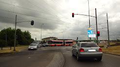 Sygnalizacja świetlna na gdańskim Chełmie