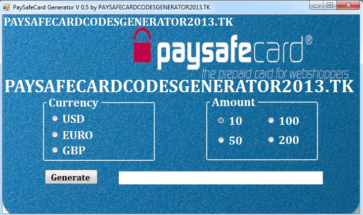 where can you use paysafecard