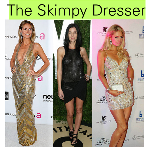 The Skimpy Dresser - Heidi Klum, Paris Hilton