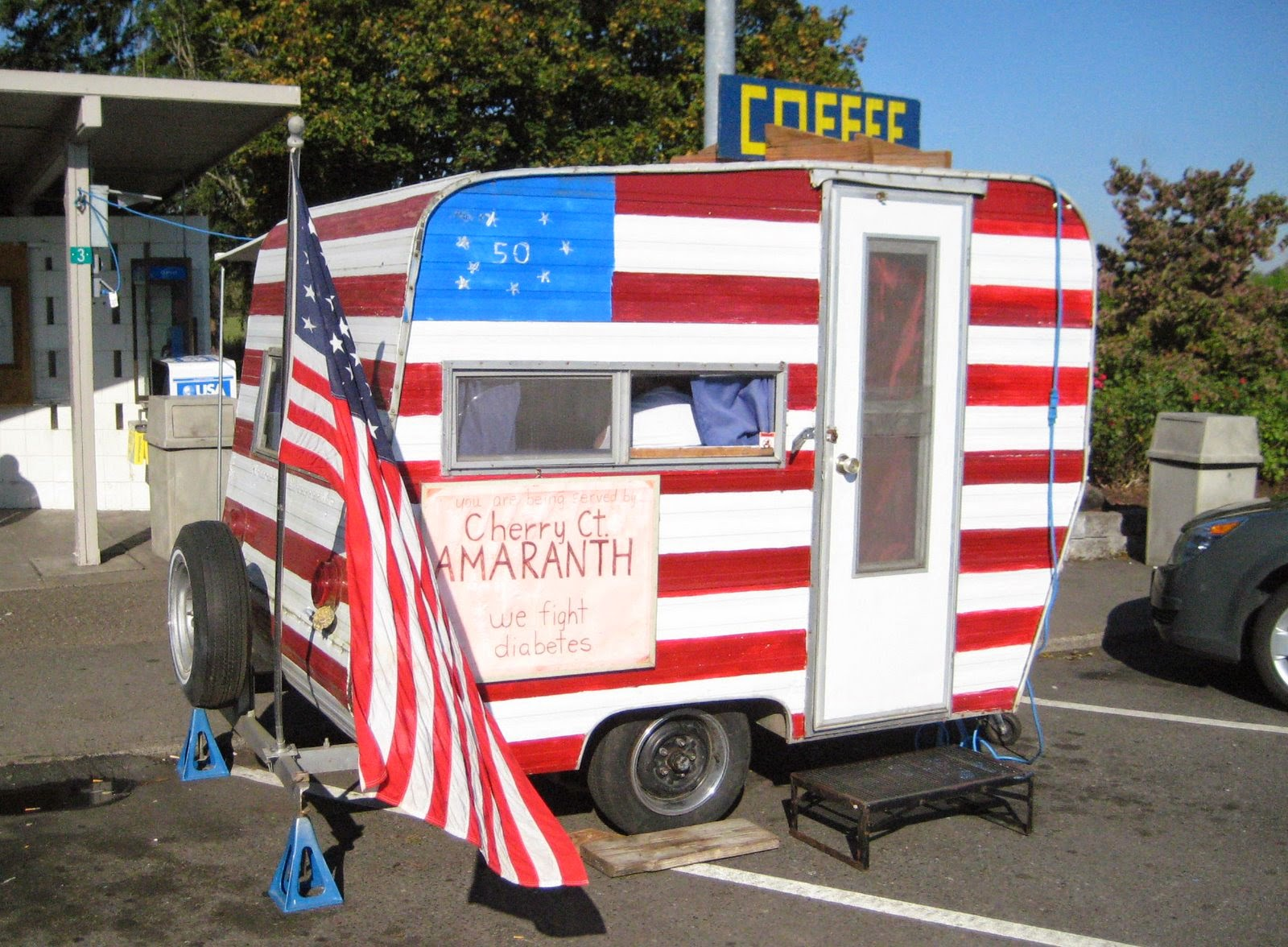 patriotic tin can camper