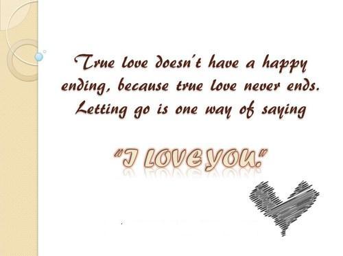 True unconditional love
