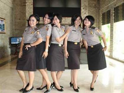 diva baranita - girlband polwan