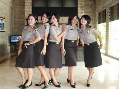 diva baranita - girlband polwan