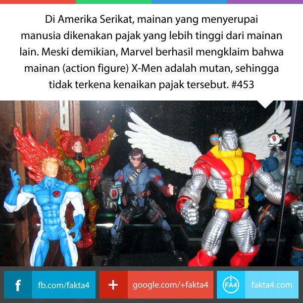 X-Men Bukanlah Manusia