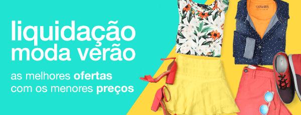 LIQUIDAÇÃO DE VERÃO - CLICK E APROVEITE