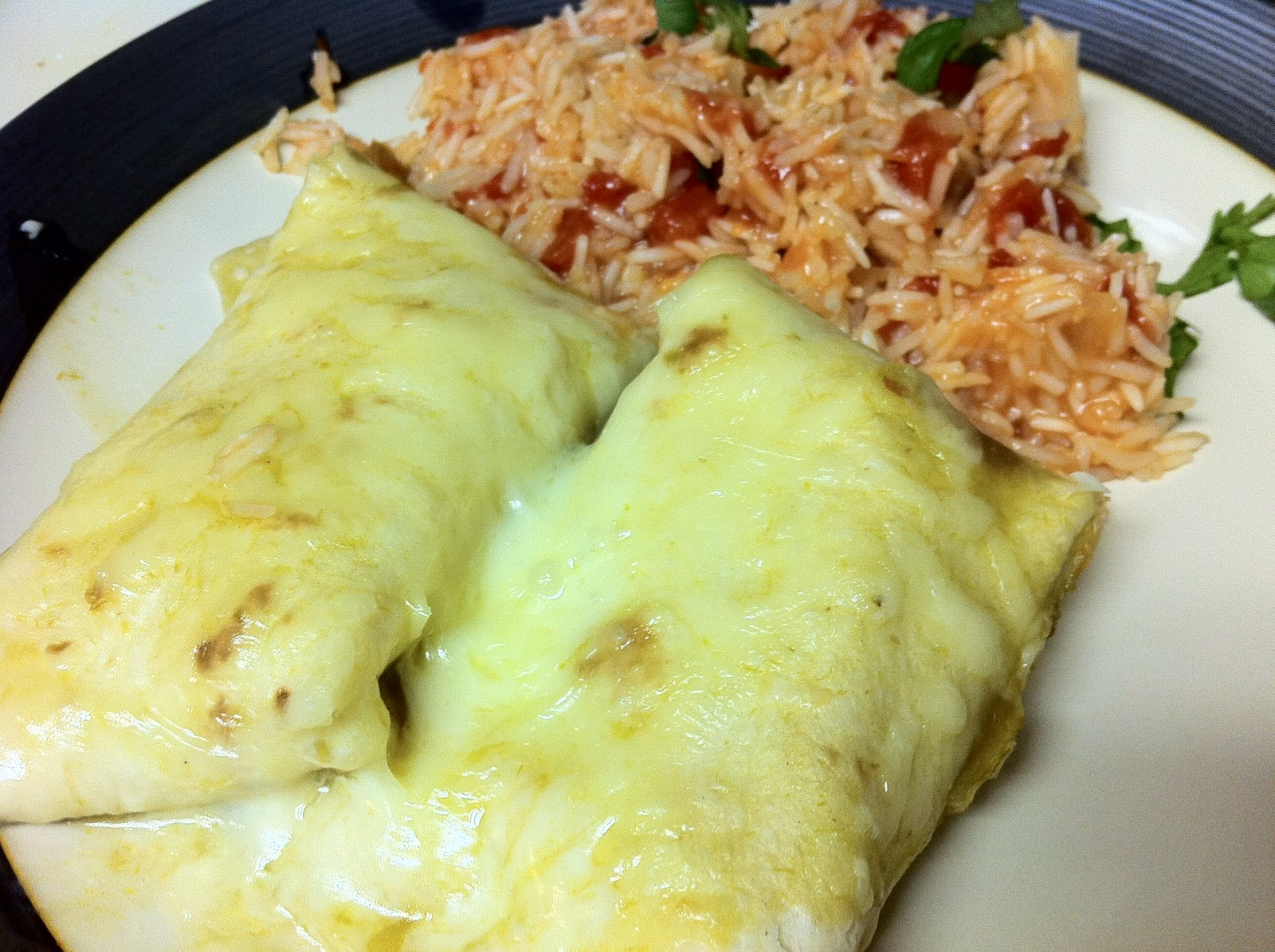 you should make this: Creamy Chicken Enchiladas
