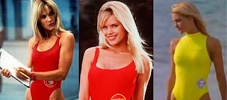 Gena Lee Nolin, Jennifer y Heather Campbell, cambios de actores, Baywatch