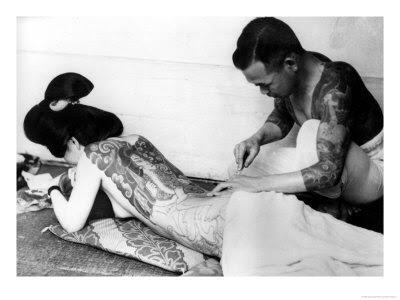 japanese art tattoos. Art II Tattoo Art in Japan