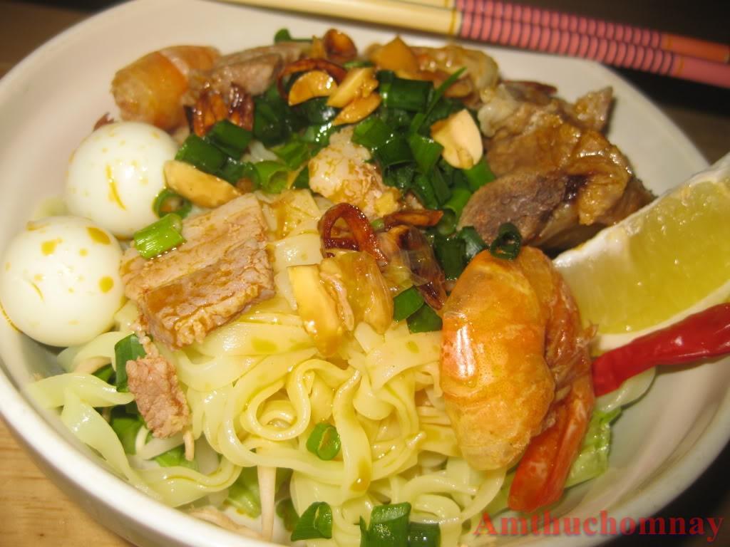 Hướng dẫn cách nấu Mì Quảng