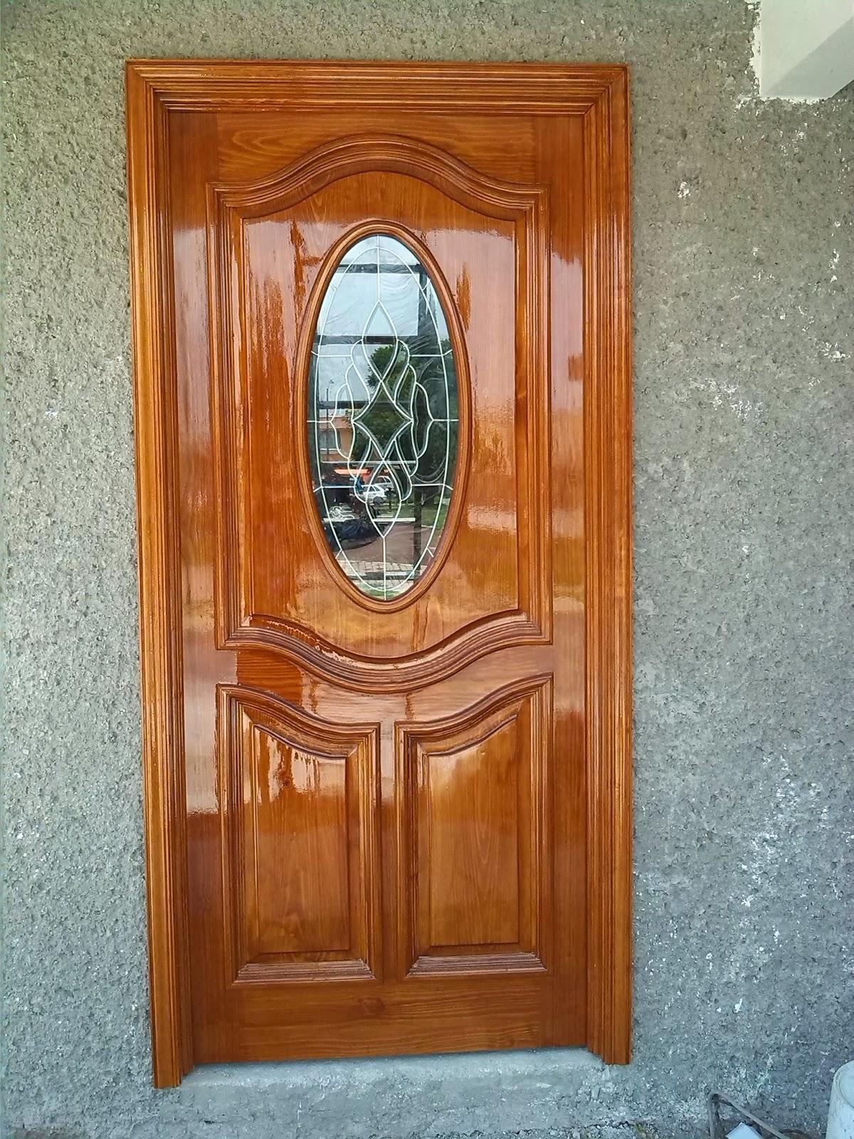 Carpinter as en ecatepec m xico puertas con vitrales for Puertas de tambor modernas