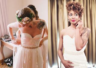 Noivas Tatuadas e Belas