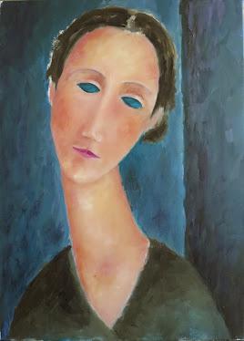A lo Modigliani II (8P)