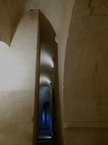 10 La crypte - abbaye de Montmajour