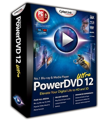 CyberLink PowerDVD v12 Ultra + Crack
