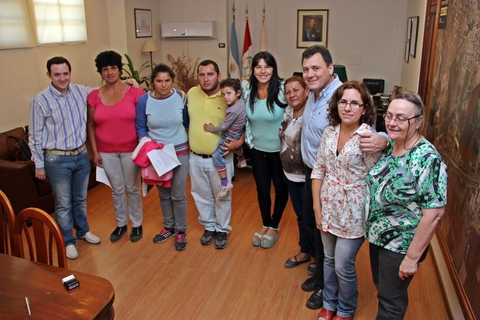 El intendente Raimundo entregó cuatro pensiones ley 5110