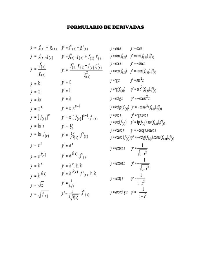 Formula Calculo Embargo 2016 Derivando Cosas Calculo Quot
