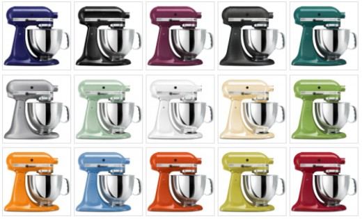 Living In The Kitchen With Puppies: The Kitchenaid Stand Mixer