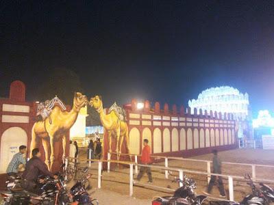 কালিয়াগঞ্জ শহরের কালি পূজা