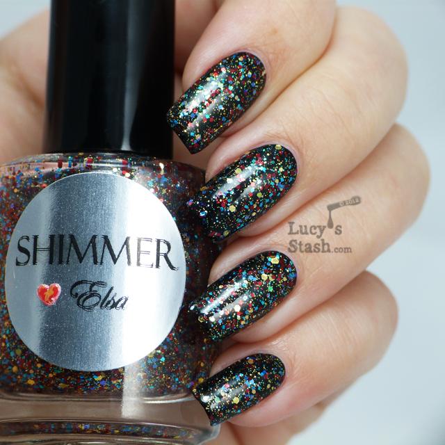 Lucy's Stash - Shimmer Polish Elsa