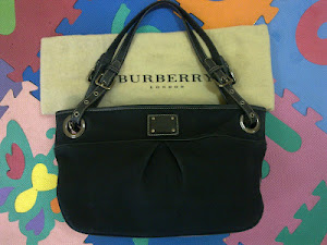 Burberry Blue Label Shopping Tote Bag(SOLD)