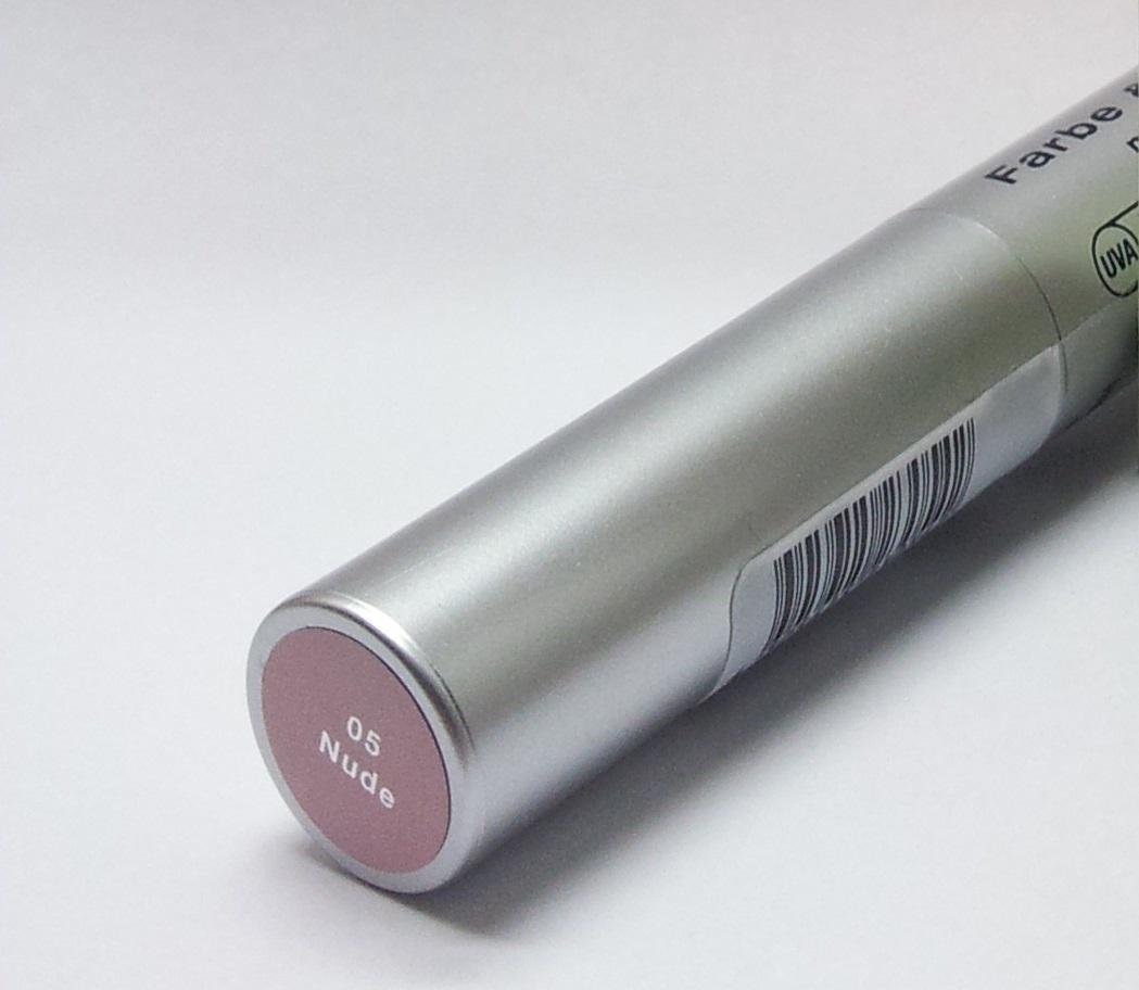 Alterra Lippenstift Farbe&Schutz nude