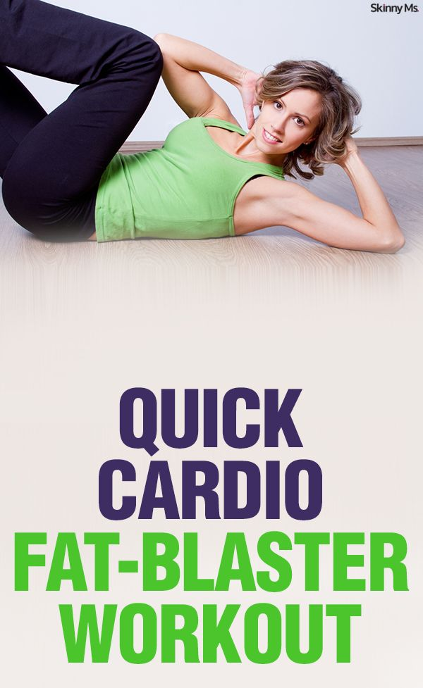 Quick Cardio Fat-Blaster Workout