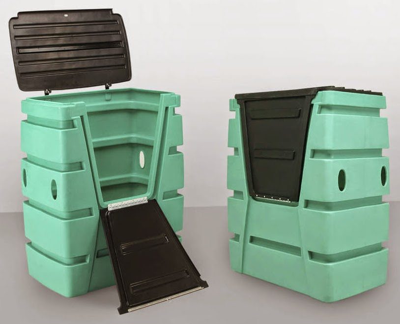 Outdoor Storage Bin Design