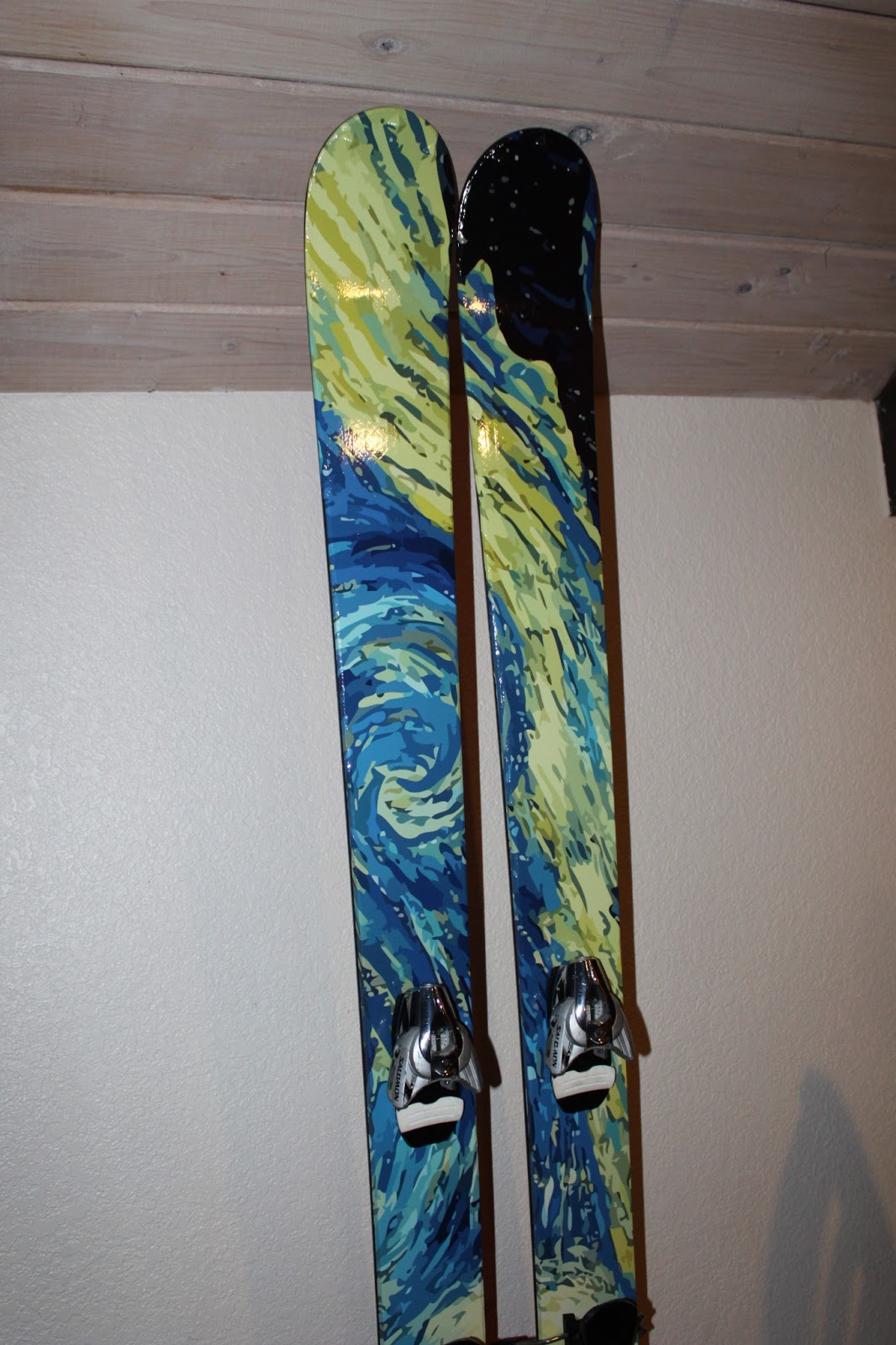 Gray Area Custom Ski Snowboard Topsheet