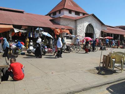 Market in Stone Town, Zanzibar, Africa by JoseeMM