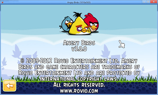 Free Download Angry Birds 3.0.0 Full Version